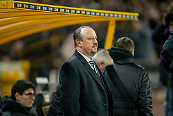 February 11, 2019 - Wolverhampton, England, United Kingdom - Rafa Benitez Manager of Newcastle United during the Premier League match between Wolverhampton Wanderers and Newcastle United at Molineux, Wolverhampton on Monday 11th February 2019. (Credit Image: © Mi News/NurPhoto via ZUMA Press)