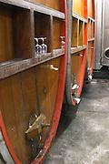 wooden vats domaine gerard neumeyer alsace france