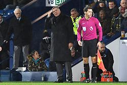 Everton manager Sam Allardyce reacts