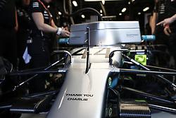 March 16, 2019 - Melbourne, Australia - Motorsports: FIA Formula One World Championship 2019, Grand Prix of Australia, ..Mercedes AMG Petronas Motorsport pay tribute to Charlie Whiting  (Credit Image: © Hoch Zwei via ZUMA Wire)