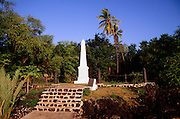 Captain Cook Monument, Kealakekua Bay,  Big Island of Hawaii, Hawaii
