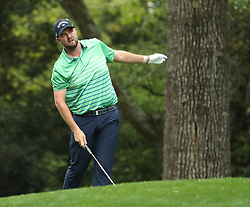 April 7, 2018 - Augusta, GA, USA - Marc Leishman hits from the 1st fairway during the third round of the Masters Tournament on Saturday, April 7, 2018, at Augusta National Golf Club in Augusta, Ga. (Credit Image: © Jason Getz/TNS via ZUMA Wire)