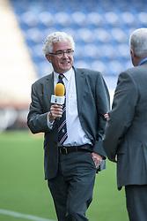 Martin Ritchie, the chairman of Falkirk FC.<br /> Falkirk 3 v 1 Morton, Scottish Championship 17/8/2013.<br /> ©Michael Schofield.