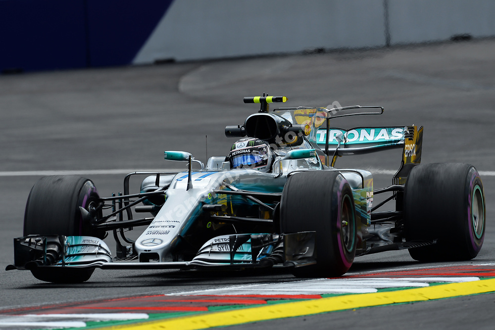 Valtteri Bottas (Mercedes) during practice for the 2017 Austrian Grand Prix at the Red Bull Ring in Spielberg. Photo: Grand Prix Photo