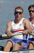 St Catherines, CANADA,  GBR M4-  left to Right, Matt PINSENT,   competing at the 1999 World Rowing Championships - Martindale Pond, Ontario. 08.1999..[Mandatory Credit; Peter Spurrier/Intersport-images]   ...St Catherines, CANADA,  GBR W2-, Bow Dot BLACKIE and Cath BISHOP,  competing at the 1999 World Rowing Championships - Martindale Pond, Ontario. 08.1999..[Mandatory Credit; Peter Spurrier/Intersport-images]   ... 1999 FISA. World Rowing Championships, St Catherines, CANADA