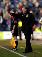Photo: Jed Wee.<br /> Preston North End v Middlesbrough. The FA Cup. 19/02/2006.<br /> <br /> Middlesbrough manager Steve McClaren.