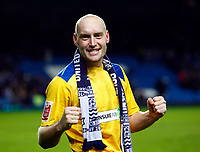 Fotball<br /> England<br /> Foto: Colorsport/Digitalsport<br /> NORWAY ONLY<br /> <br /> Adam Barrett of Southend United celebrates southend draw with Chelsea.  Chelsea  Vs Southend United F A CUP 3rd Round  at  Stamford Bridge Stadium. 03/01/2009.