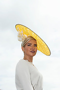 30/07/2015 report free : Winners Announced in Kilkenny Best Dressed Lady, Kilkenny Best Irish Design & Kilkenny Best Hat Competition at Galway Races Ladies Day <br /> At the event was Alex Popovici from Galway . <br /> Photo:Andrew Downes, xposure