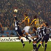NLD/Arnhem/20051211 - Voetbal, Vitesse - Ajax, hoekschop