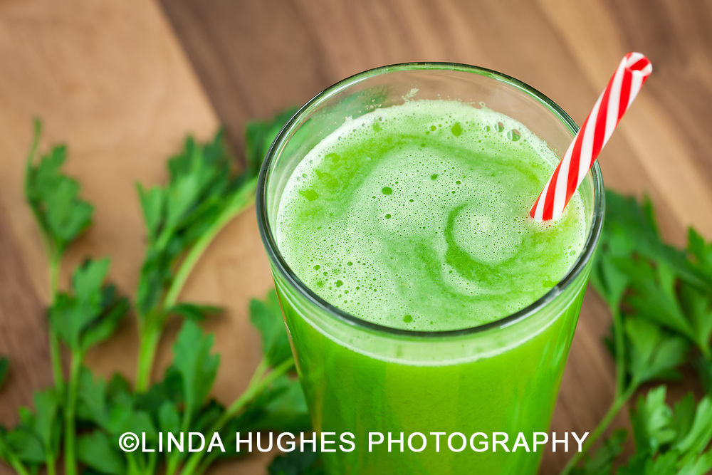 Delicious and Healthy Celery Juice with Parsley
