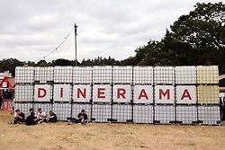 Latitude Festival, Henham Park, Suffolk, UK July 2018. Food village