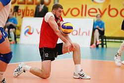 20170525 NED: 2018 FIVB Volleyball World Championship qualification, Koog aan de Zaan<br />Serghei Predius (12) of Republic of Moldova <br />©2017-FotoHoogendoorn.nl / Pim Waslander