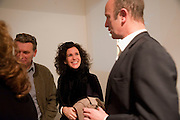 DUNCAN WARD; MOLLIE DENT-BROCKLEHURST; JOHNNIE SHAND KYDD, The  launch of Johnnie Shand Kydd's book Siren City. ( Photographs of Naples) Claire<br /> de Rouen books published  by Other Criteria. Charing Cross Rd. London. 30 November 2009