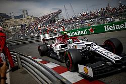 May 25, 2019 - Monte Carlo, Monaco - Motorsports: FIA Formula One World Championship 2019, Grand Prix of Monaco, ..#99 Antonio Giovinazzi (ITA, Alfa Romeo Racing) (Credit Image: © Hoch Zwei via ZUMA Wire)