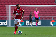 Bristol City's Nahki Wells (21) in action during the EFL Cup match between Bristol City and Exeter City at Ashton Gate, Bristol, England on 5 September 2020.