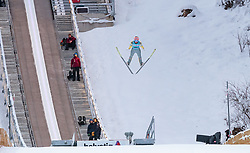 17.12.2017, Gross Titlis Schanze, Engelberg, SUI, FIS Weltcup Ski Sprung, Engelberg, im Bild Stefan Kraft (AUT) // Stefan Kraft of Austria during Mens FIS Skijumping World Cup at the Gross Titlis Schanze in Engelberg, Switzerland on 2017/12/17. EXPA Pictures © 2017, PhotoCredit: EXPA/JFK