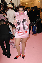 Lena Dunham attends The 2019 Met Gala Celebrating Camp: Notes on Fashion at Metropolitan Museum of Art on May 06, 2019 in New York City.<br /> Photo by ABACAPRESS.COM