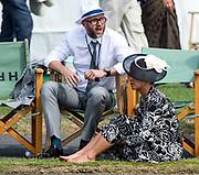 Henley, England.  Hats at Henley.  2015 Henley Royal Regatta, Henley Reach, River Thames. <br /> <br /> Wednesday  01/07/2015<br /> <br /> © Peter SPURRIER<br /> NIKON CORPORATION  NIKON D4  f6.3  1/1250sec  500mm  8.9MB