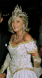 MRS LIZ BREWER the PR person at a party in London on 14th July 1997. MAF 29
