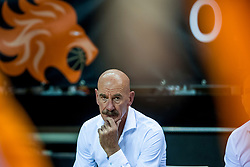 24-11-2017 NED: WC qualification Netherlands - Croatia, Almere<br /> First Round - Group D at the arena Topsportcentrum / Coach Toon van Helfteren of Netherlands