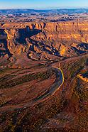 USA-Texas-Big Bend-Aerials-Rio Grande River
