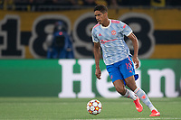 BERN, SWITZERLAND - SEPTEMBER 14: Raphaël Varane of Manchester United during the UEFA Champions League group F match between BSC Young Boys and Manchester United at Stadion Wankdorf on September 14, 2021 in Bern, Switzerland. (Photo by FreshFocus/MB Media)