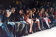 FRONT ROW: INC; PIXIE LOTT; JANET JACKSON; JAMEELA JAMIL; NICOLA ROBERTS, VIVIENNE WESTWOOD RED LABEL FASHION SHOW, Royal Courts of Justice. The Strand. London. 21 February 2010<br /> FRONT ROW: INC; PIXIE LOTT; JANET JACKSON; JAMEELA JAMIL; NICOLA ROBERTS, VIVIENNE WESTWOOD RED LABEL FASHION SHOW, Royal Courts of Justice. The Strand. London. 21 February 2010 *** Local Caption *** -DO NOT ARCHIVE-© Copyright Photograph by Dafydd Jones. 248 Clapham Rd. London SW9 0PZ. Tel 0207 820 0771. www.dafjones.com.