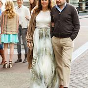 NLD/Amsterdam/20150620 - Huwelijk Kimberly Klaver en Bas Schothorst, Ellen Litz en partner