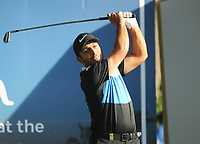 Golf - 2019 BMW PGA Championship - Thursday, First Round<br /> <br /> Francesco Molinari of Italy tees off at the 3th hole, at the West Course, Wentworth Golf Club.<br /> <br /> COLORSPORT/ANDREW COWIE