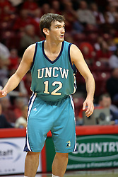 18 November 2007: Josh Sheets.  Illinois State Redbirds defeated the Seahawks of the University of North Carolina - Wilmington 89-73 on Doug Collins Court in Redbird Arena on the campus of Illinois State University in Normal Illinois.