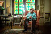 SLUG: CHARACTER  New York City, New York - July 27, 2016:   Anton Coppola, the 99-year-old opera conductor and composer, pictured at his home, across the street from Central Park.  Credit: Santiago Mejia/The New York Times  30193421A                               NYTCREDIT: Santiago Mejia/The New York Times