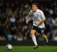 Villa Park Birmingham England U21 v Wales U21 (2-2 5-4 agg) 14/10/2008<br /> Mark Noble  (England)<br /> Photo Roger Parker Fotosports International