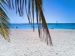 Ancon beach near Trinidad, Cuba. Caribbean sea.