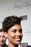 """December 6, 2012- New York, NY: Recording Artist Alicia Keys attends the ' Keep A Child Alive Black Ball """" Redux """" 2012 ' held at the Apollo Theater on December 6, 2012 in Harlem, New York City. The Benefit pays homage to Oprah Winfrey, Angelique Kidjo for their philanthropic contributions in Africa and worldwide and celebrates the power of woman and the promise of an AIDS-free Africa. (Terrence Jennings)"""
