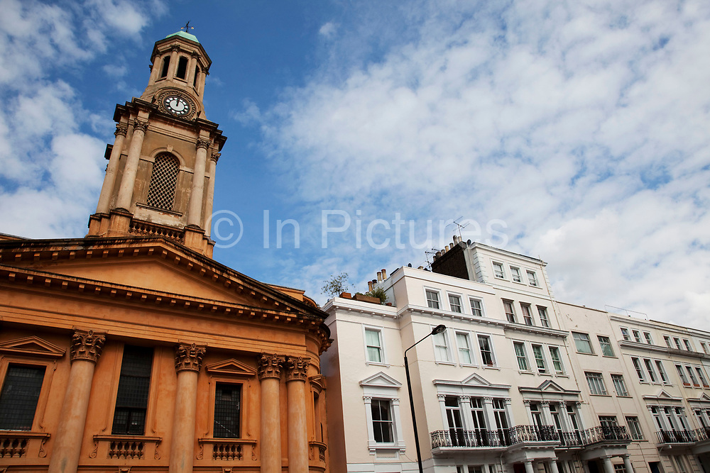 St Peter's Church on Kensington Park Road in Notting Hill, West London. Made famous from the movie of the same name.