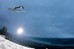 25.11.2012, Lysgards Schanze, Lillehammer, NOR, FIS Weltcup, Ski Sprung, Herren, im Bild Schlierenzauer Gregor (AUT) during the mens competition of FIS Ski Jumping Worldcup at the Lysgardsbakkene Ski Jumping Arena, Lillehammer, Norway on 2012/11/25. EXPA Pictures © 2012, EXPA/ Federico Modica