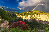 Canyon of Emen at springtime