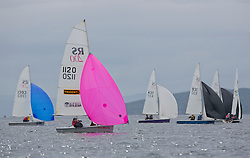 Largs Regatta Week 2015, hosted by Largs Sailing Club and Fairlie Yacht Club<br /> <br /> RS200 Fleet<br /> <br /> <br /> Credit Marc Turner
