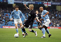 Photo: Paul Thomas.<br />Manchester City v Scunthorpe United. The FA Cup.<br />07/01/2006.<br />Scunthorpe's goal scorer Andy Keogh in action.