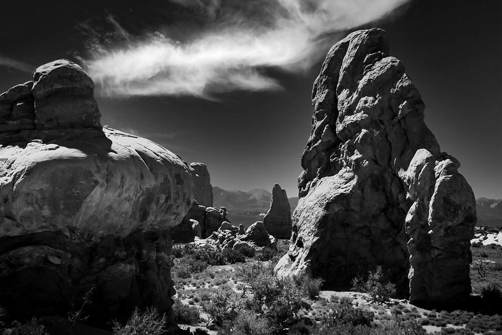 Landscape at Arches National Park near Moab, Utah. ©justinalexanderbartels.com