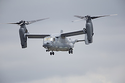 © Licensed to London News Pictures. 17/07/2015. RAF Fairford, UK.USAF CV-22B Osprey, The Royal International Air Tattoo (RIAT). Photo credit : Ian Schofield/LNP