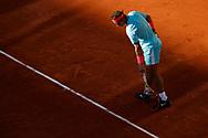 Rafael NADAL (ESP) during the Roland Garros 2020, Grand Slam tennis tournament, on October 9, 2020 at Roland Garros stadium in Paris, France - Photo Stephane Allaman / ProSportsImages / DPPI