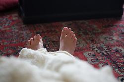Feet Detail, Nana's House, Castine, Maine, US