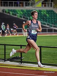 University of Oregon<br /> Oregon Relays track and field meet<br /> April 23-24, 2021 Eugene, Oregon, USA<br /> mens 5000, Butler