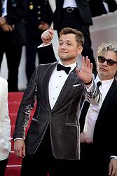 May 16, 2019 - 72nd Cannes Film Festival 2019, Red Carpet Rocketman. Pictured : Taron Egerton (Credit Image: © Simone Comi/IPA via ZUMA Press)
