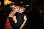 Jacquetta Wheeler and Julian Macdonald, THE DINER DES TSARS in aid of UNICEF. To celebrate the launch of Quintessentially Wine, Guildhall. London. 29 March 2007.  -DO NOT ARCHIVE-© Copyright Photograph by Dafydd Jones. 248 Clapham Rd. London SW9 0PZ. Tel 0207 820 0771. www.dafjones.com.