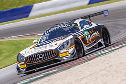 11.06.2017, Red Bull Ring, Spielberg, AUT, ADAC GT Masters, Spielberg, 2. Rennen, im Bild Patrick Assenhelmer (GER)/Maximilian Goetz (GER) Mercedes AMG Team HTP Motorsport // German ADAC GT MAsters driver Patrick Assenheimer/German ADAC GT masters driver Maximilian Goetz of Mercedes AMG Team HTP Motorsport during the 2nd race of the ADAC GT Masters at the Red Bull Ring in Spielberg, Austria on 2017/06/11. EXPA Pictures © 2017, PhotoCredit: EXPA/ Dominik Angerer
