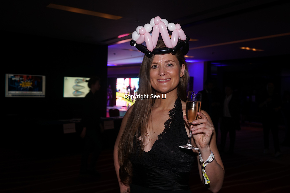 Westminster, UK. 20th Apr, 2017. Sarah Williams - Tough Girl Challenges attends The annually National UK Blog Awards at Park Plaza Westminster Bridge, London. by See Li