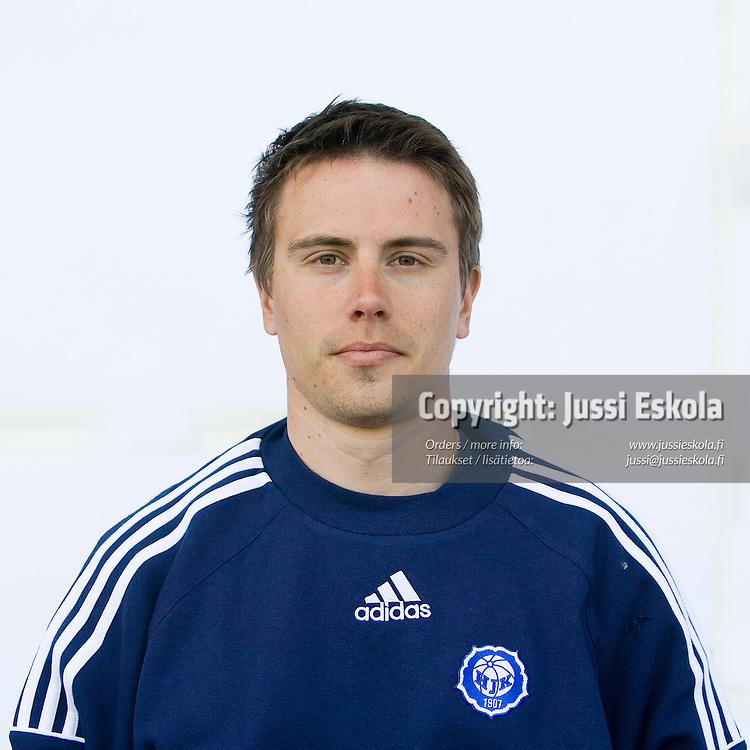 Manu Kangaspunta. HJK, 2007. Photo: Jussi Eskola
