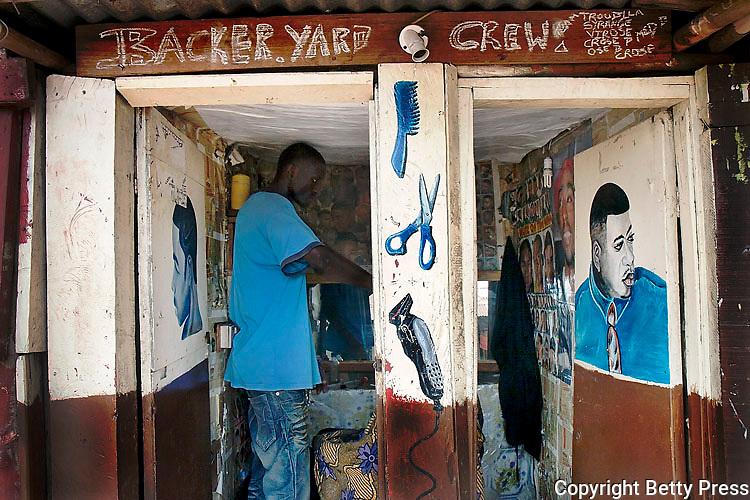Backer Yard Barbing Shop